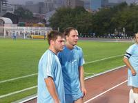Никита Клименко и Евгений Девятов