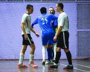 Мини-футбол в ВУЗы. Финал. ДВФУ - МЧС