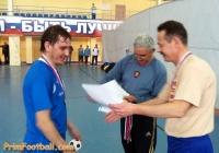ветераны мини-футбол 2013