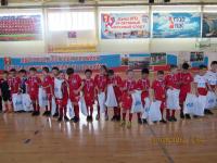 Турнир по мини-футболу для самых маленьких футболистов на призы Компании «Газпром трансгаз Томск»